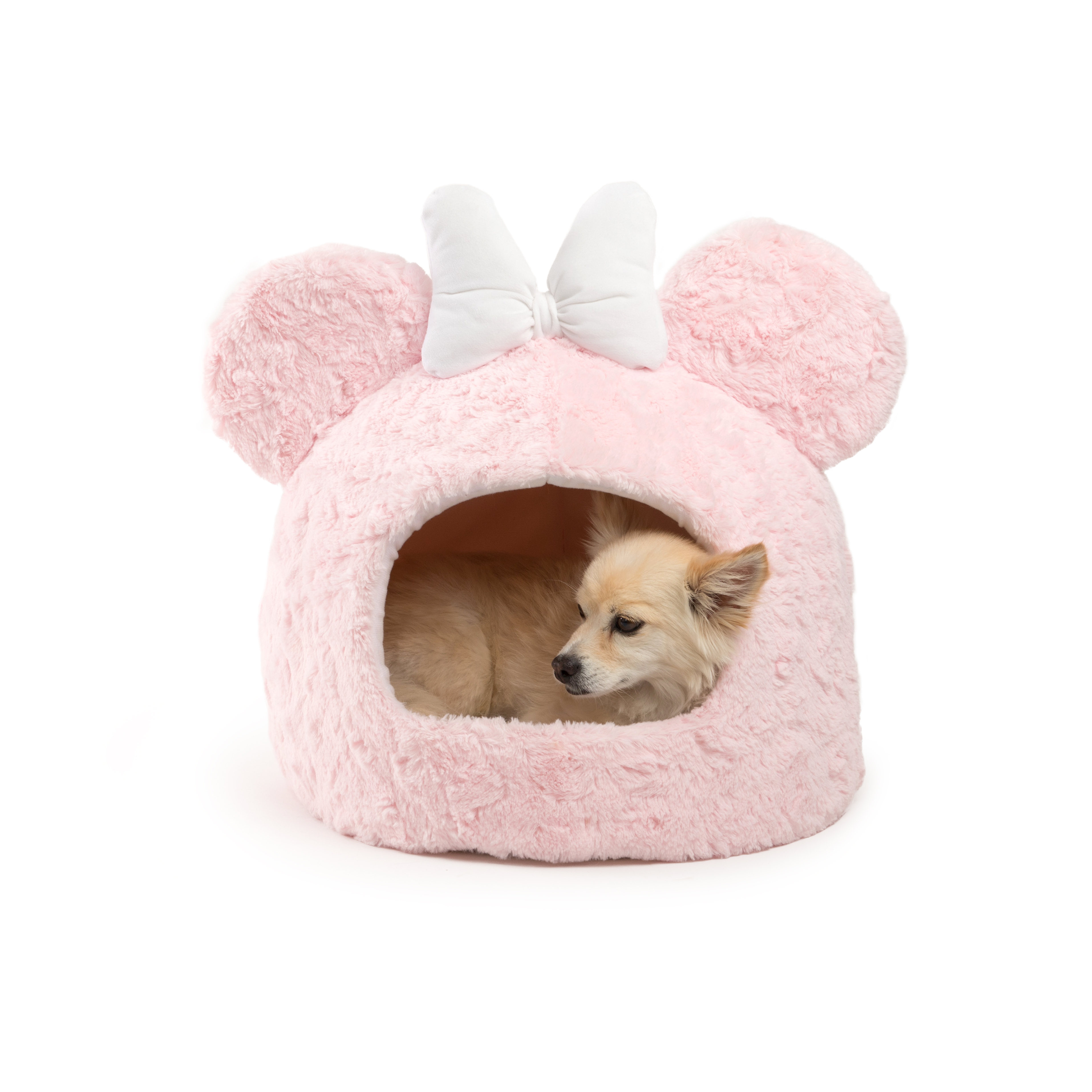 Disney Minnie Mouse Ice Cream Dome Pet Bed With Free Plush